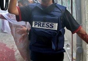 В прошлом году в мире были убиты 102 журналиста