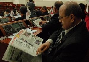 Черновецкий назначил первое пленарное заседание Киевсовета на 25 августа