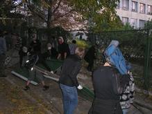В столкновении против застройки на Печерске в столице пострадали журналисты