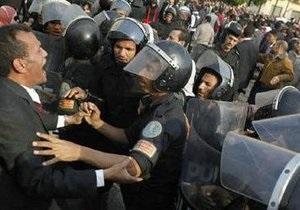 Акция протеста в Египте обернулась беспорядками: задержаны 860 человек (обновлено)