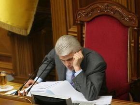 Литвин никак не может понять решения о возбуждении дела о Голодоморе