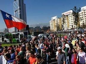 70 тысяч чилийских госслужащих устроили забастовку, требуя изменения трудового кодекса