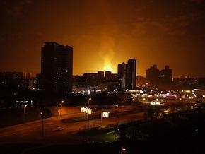 Лужков прибыл на место взрыва в Москве