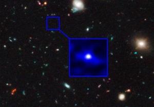 Телескоп Хаббл сфотографировал самую древнюю галактику