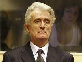 Караджич будет бойкотировать процесс в Гааге