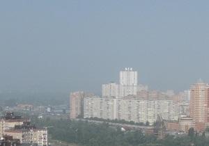 СЭС проверит воздух в Киевской области для определения источников задымления