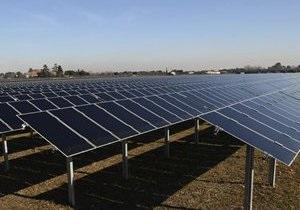 Первая солнечная электростанция заработала в Винницкой области
