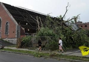 На северо-восток США обрушились торнадо: есть жертвы
