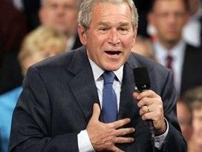 Буш обещает сотрудничать с Обамой