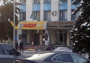 Агентство: У здания мэрии Макеевки нашли конверт с угрозами новых взрывов
