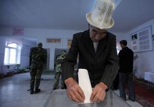 В Кыргызстане завершили подсчет бюллетеней: в парламент попадают пять партий