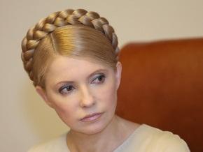 Тимошенко заявила, что в Украине нет эпидемии свиного гриппа