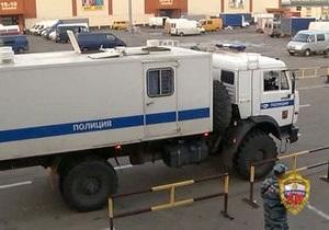 На московском рынке Садовод полиция задержала более тысячи человек