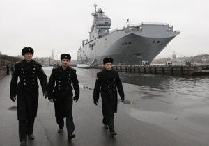 Латвия потребует у НАТО поддержки, если Россия разместит Мистрали в Балтийском море