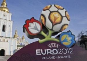 В центре Киева образовались пробки из-за обустройства фан-зоны к Евро-2012