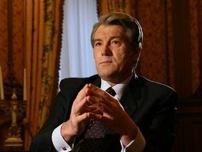 Ющенко признал, что оснований для роспуска парламента нет