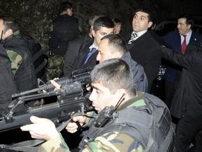 Фотогалерея: Точка обстрела. Саакашвили и Качиньский на линии огня