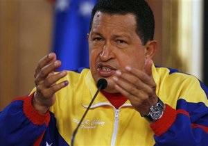 Чавес объявил о начале ядерной программы Венесуэлы