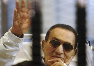Мубарак переведен в тюрьму