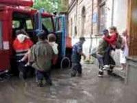 В связи с подтоплением жилых домов в Красноперекопске объявлено ЧП