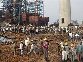 В результате аварии при строительстве электростанции в Индии погиб 31 человек
