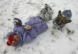 В Украине 3,6 миллионов школьников из-за сильных морозов ушли на каникулы