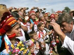Ющенко поручил Кабмину сохранить гуцульскую культуру