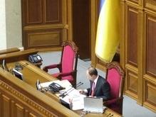 Яценюк открыл Раду и сразу объявил перерыв