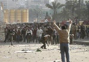 На центральной площади Каира произошла потасовка между демонстрантами