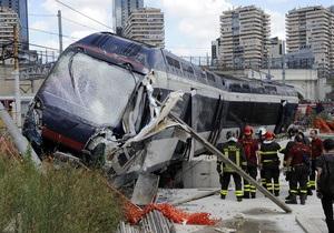 В Неаполе сошел с рельсов поезд: есть погибшие