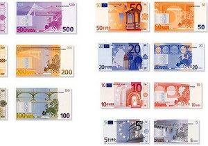 Курс валют: евро резко потерял в цене