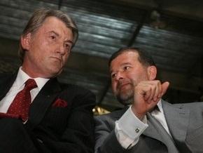 Балога за год получил в пять раз меньше, чем Ющенко