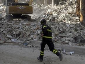 В Италии произошло еще одно сильное землетрясение