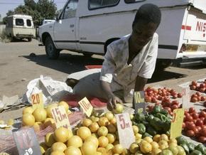 В Зимбабве появилась купюра в 100 трлн долларов