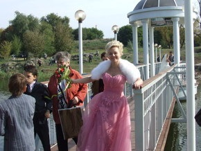 В Запорожье появился Мост к теще и свекрови