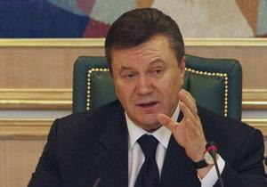 Янукович поручил обеспечить достойное участие украинских ветеранов в проекте Поезд Победы