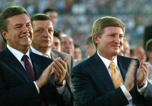 Ахметов оценил 100 дней Януковича