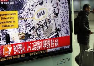 НАТО видит угрозу международной стабильности в ядерных испытаниях КНДР