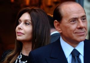 Берлускони обязали выплачивать бывшей жене 3 миллиона евро ежемесячно