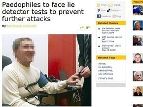 Британская газета проиллюстрировала новость о педофилах фотографией Черновецкого