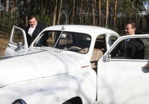 Побєди  Януковича і Медвєдєва