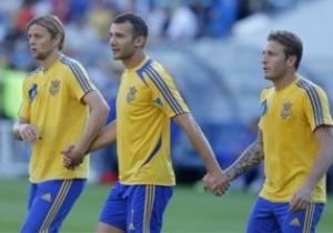Шевченко и Воронин завершили выступления за сборную