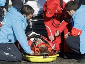 Бобслей: Фаворит Олимпиады выбыл из-за сотрясения мозга
