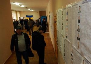 Україна - екс-кандидати - перевибори