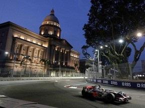 Трасса Гран-при Сингапура - лучший объект года