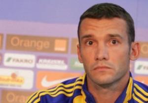Андрей Шевченко назвал оптимальных соперников для сборной Украины по отбору ЧМ-2014