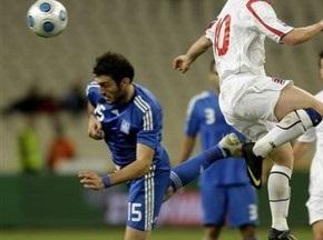 ЧМ-2010: Полузащитник Олимпиакоса не сыграет в матче с Украиной