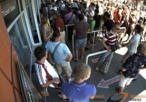 На матч Франция - Англия в Донецке остаются непроданными всего около 700 билетов