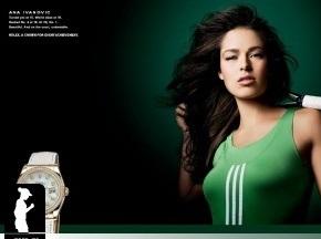 Ана Иванович снялась для Rolex