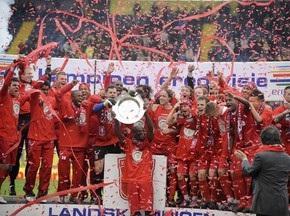 Твенте вперше виграв Чемпіонат Голландії